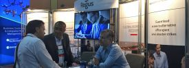 Regus meets risk directors at the Disaster Recovery Journal Fall 2019